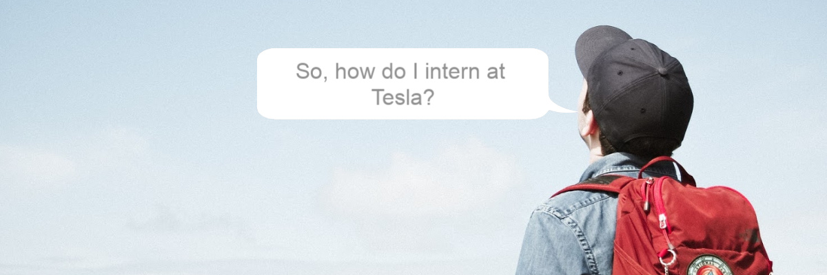 student thinking about an internship in renewable energy